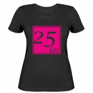 Damska koszulka 25 lat