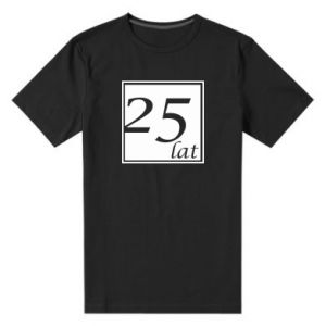 Men's premium t-shirt 25 years