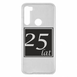 Xiaomi Redmi Note 8 Case 25 years