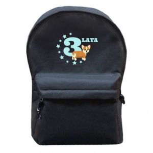 Backpack with front pocket 3 yars