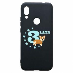 Xiaomi Redmi 7 Case 3 yars