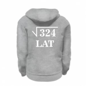 Kid's zipped hoodie % print% 324 years old