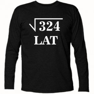 Long Sleeve T-shirt 324 years old