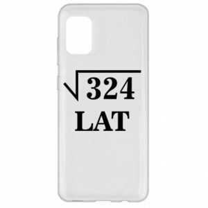 Samsung A31 Case 324 years old