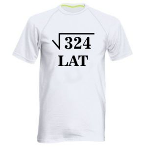 Men's sports t-shirt 324 years old
