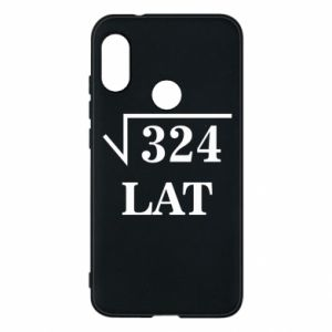 Mi A2 Lite Case 324 years old