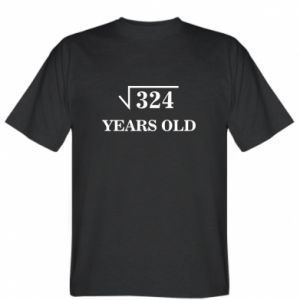 T-shirt 324 years old
