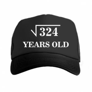 Trucker hat 324 years old