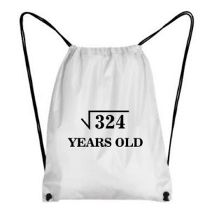 Backpack-bag 324 years old