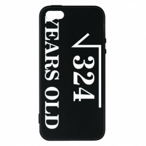Phone case for iPhone 5/5S/SE 324 years old