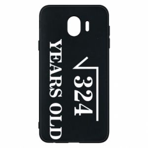 Phone case for Samsung J4 324 years old