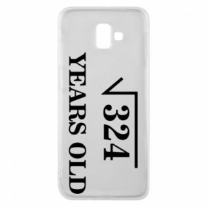 Phone case for Samsung J6 Plus 2018 324 years old
