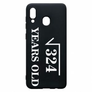Phone case for Samsung A20 324 years old