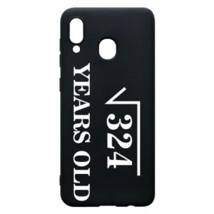 Phone case for Samsung A30 324 years old