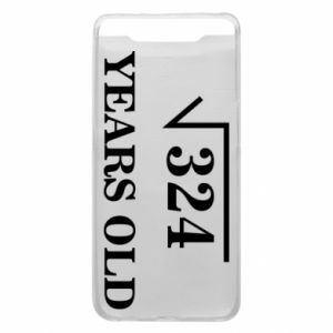Phone case for Samsung A80 324 years old