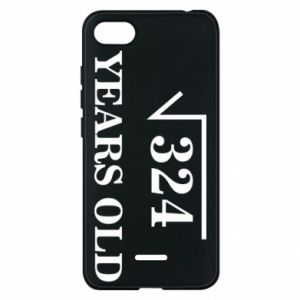 Phone case for Xiaomi Redmi 6A 324 years old