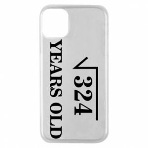 Phone case for iPhone 11 Pro 324 years old