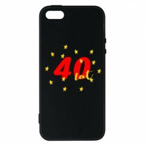 Etui na iPhone 5/5S/SE 40 lat, z gwiazdami