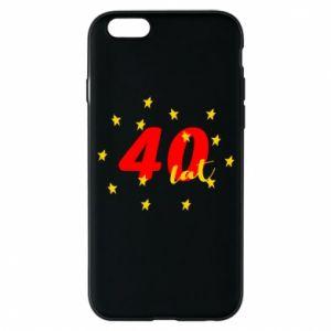 Etui na iPhone 6/6S 40 lat, z gwiazdami