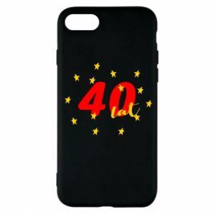 Etui na iPhone 7 40 lat, z gwiazdami
