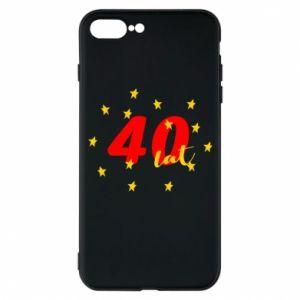 Etui na iPhone 7 Plus 40 lat, z gwiazdami