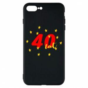 Etui na iPhone 8 Plus 40 lat, z gwiazdami