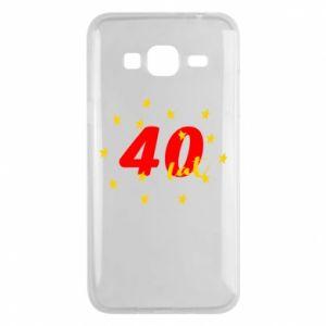 Etui na Samsung J3 2016 40 lat, z gwiazdami