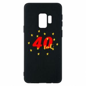 Etui na Samsung S9 40 lat, z gwiazdami