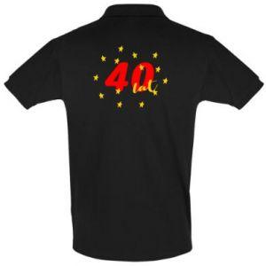 Koszulka Polo 40 lat, z gwiazdami