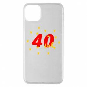 Etui na iPhone 11 Pro Max 40 lat, z gwiazdami
