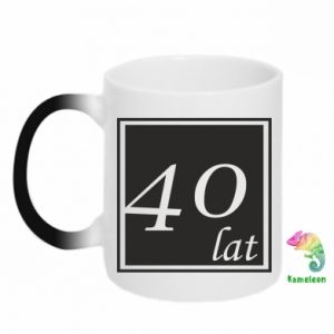 Chameleon mugs 40 years