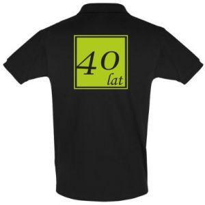 Koszulka Polo 40 lat