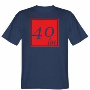 Koszulka 40 lat