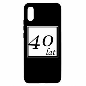 Etui na Xiaomi Redmi 9a 40 lat