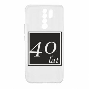 Etui na Xiaomi Redmi 9 40 lat