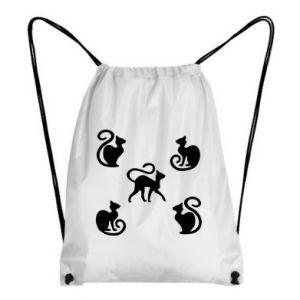 Plecak-worek 5 kotów
