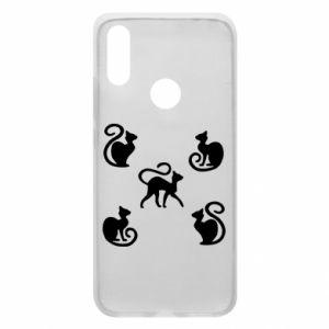 Etui na Xiaomi Redmi 7 5 kotów