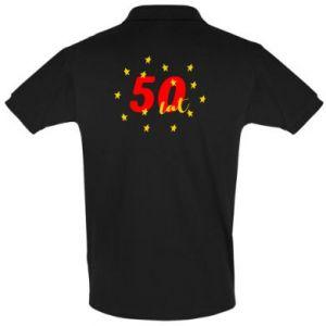 Koszulka Polo 50 lat, z gwiazdami