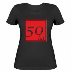 Koszulka damska 50 lat