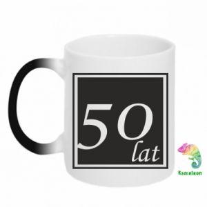 Kubek-kameleon 50 lat