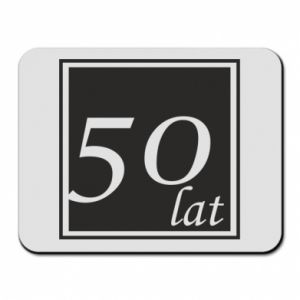 Mouse pad 50 years