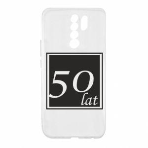 Etui na Xiaomi Redmi 9 50 lat