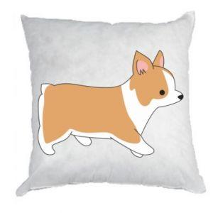 Pillow Corgi en route