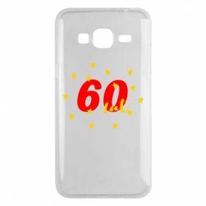 Etui na Samsung J3 2016 60 lat, z gwiazdami