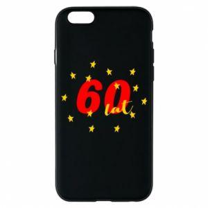 Etui na iPhone 6/6S 60 lat, z gwiazdami