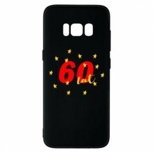 Etui na Samsung S8 60 lat, z gwiazdami