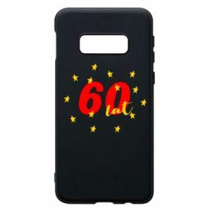 Etui na Samsung S10e 60 lat, z gwiazdami