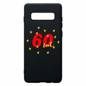 Etui na Samsung S10+ 60 lat, z gwiazdami