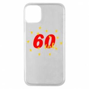Etui na iPhone 11 Pro 60 lat, z gwiazdami