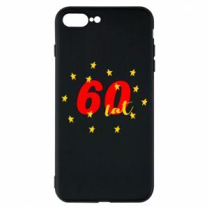 Etui na iPhone 8 Plus 60 lat, z gwiazdami